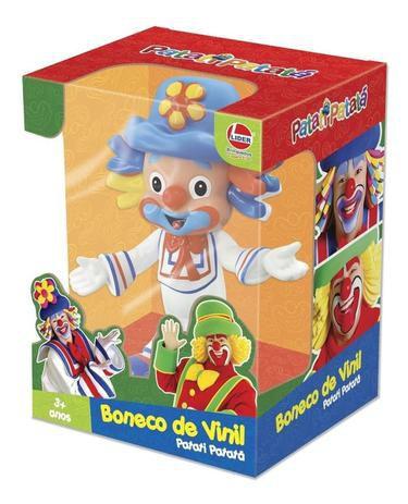 Palhaço Patati Vinil Boneco 17cm Lider Brinquedos Original - Líder