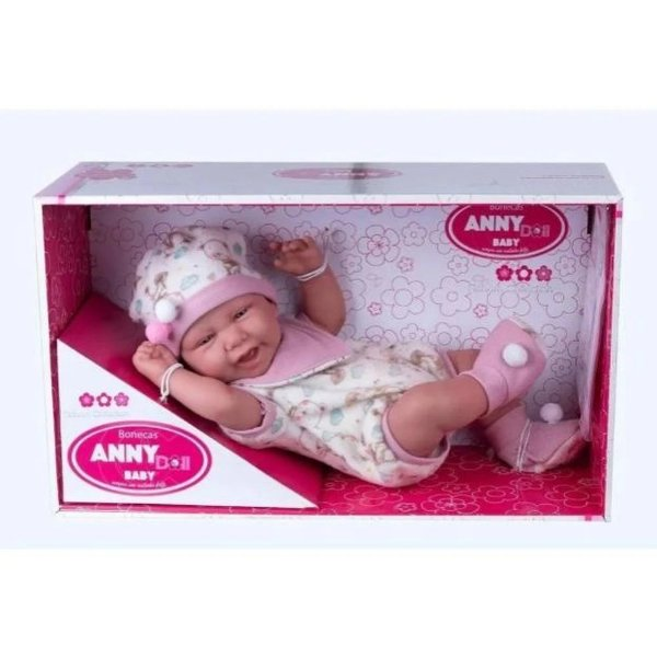 Boneca - Anny Doll Baby - Babador - Cotiplás - COT2442