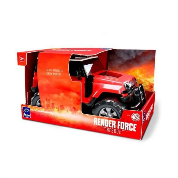 Jeep Render Force Rescue Bombeiros Roma - 1018
