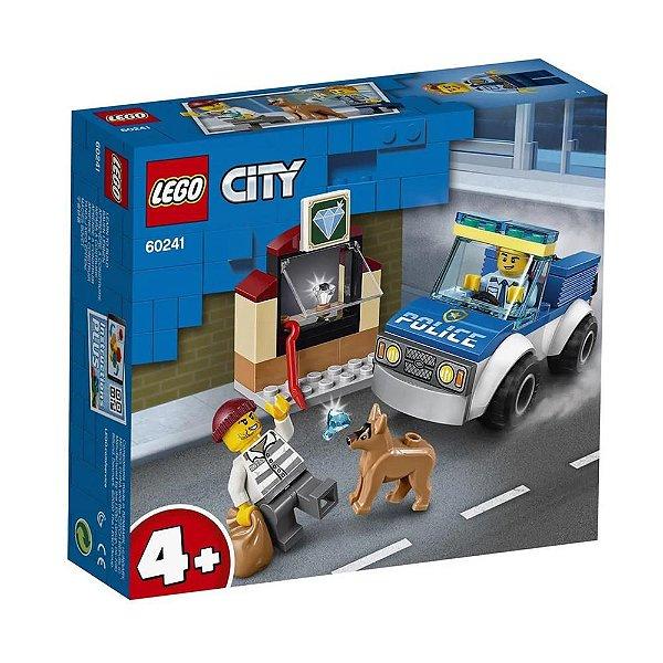 LEGO City - Unidade de Cães Policiais 60241 - 67 Peças