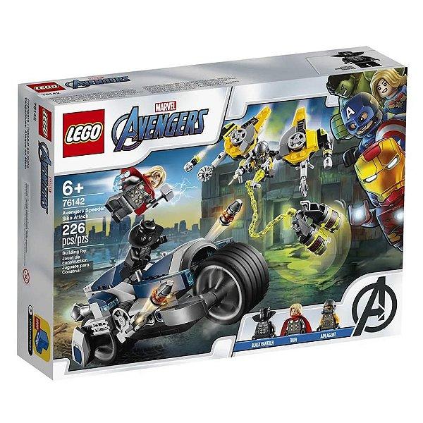 LEGO Super Heroes - Ataque dos Vingadores em Speeder Bike