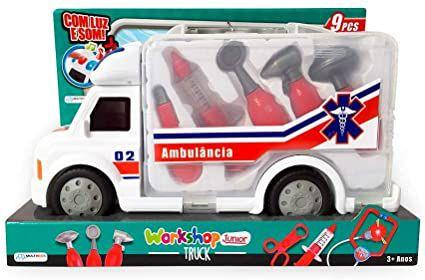Caminhão de Primeiros Socorros Workshop Junior- Multikids
