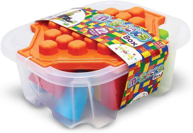 Blocos M-Bricks Box, Maral, Multicor