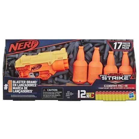 Nerf Alpha Strike Cobra com Target Hasbro