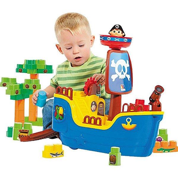Baby Land Navio Pirata 30 Blocos