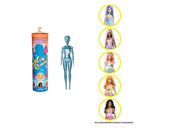 Boneca Barbie - Color Reveal Natureza - Mattel