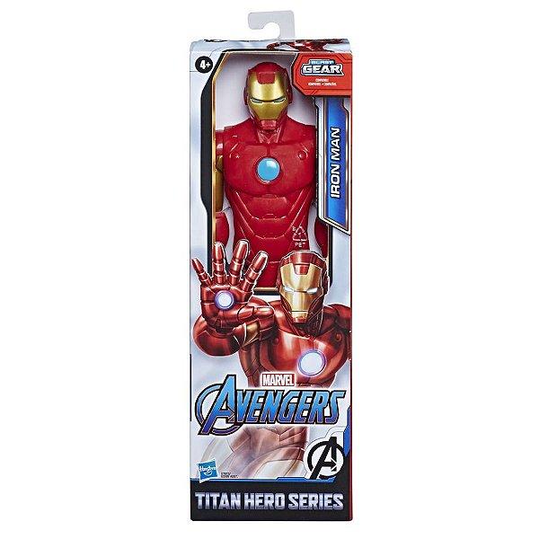 Boneco Homem de Ferro Avengers Titan Hero - Hasbro