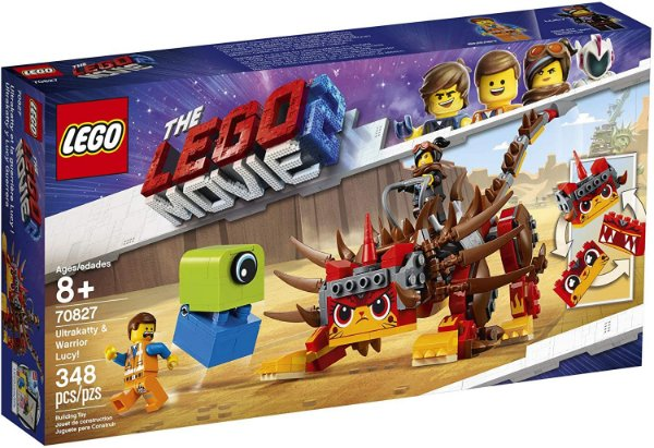 Lego The Lego Movie 2 Ultrakatty e Guerreira Lucy