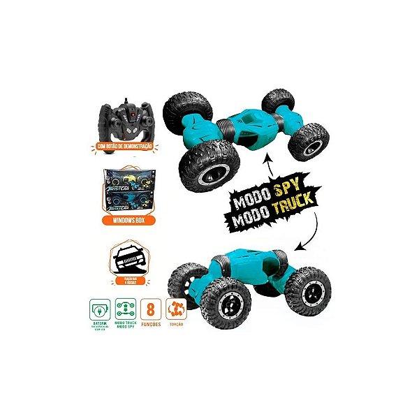 Veículo de Controle Remoto - Twist Car - Azul - Polibrinq
