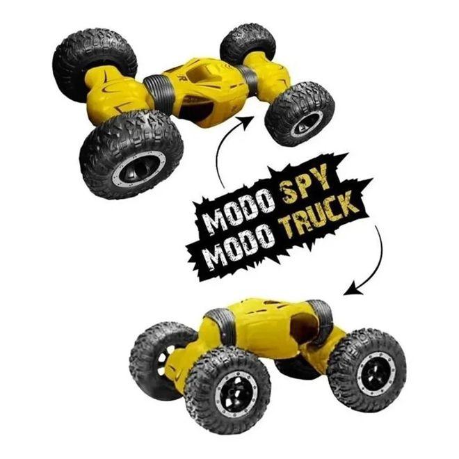 Veículo de Controle Remoto - Twist Car - Amarelo - Polibrinq