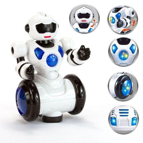 Robo Eletrônico Com Movimento - Dancing Robot (Dançarino com LED)