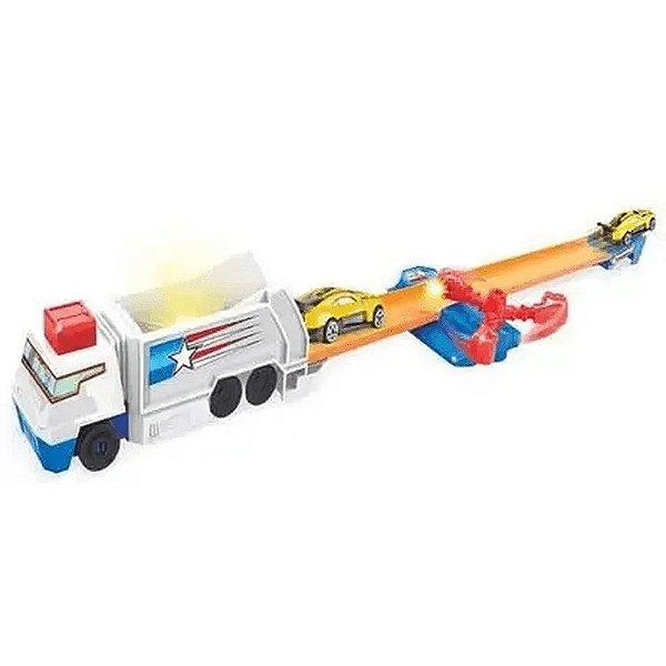 Pista Infantil Nocaute Explosivo Speedster Carrinhos Desafio