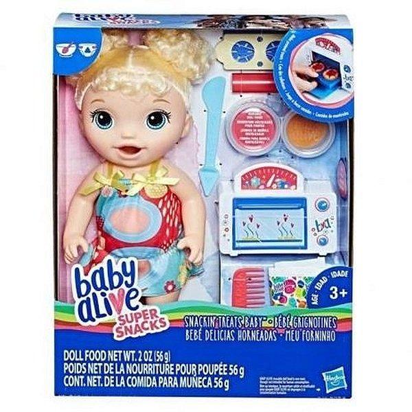 Boneca Baby Alive - Meu Forninho Loira - Hasbro