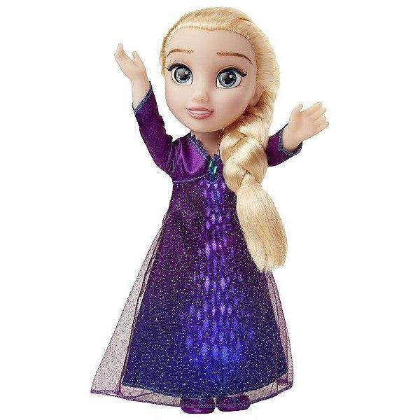 Boneca Com Luzes E Sons Disney Frozen 2 Elsa Musical Mimo