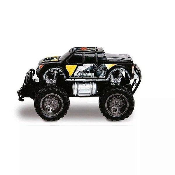 Carro Controle Pick Up Cross Black Panter - Mimo 3278