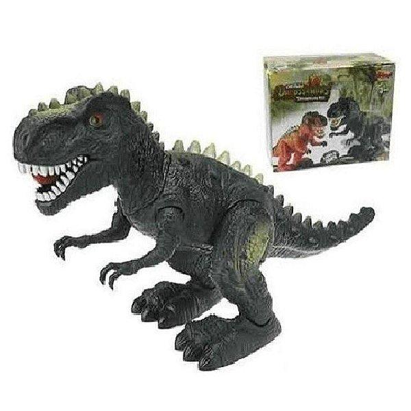 Dinossauro Tiranossauro Rex Som Luz Com 26 Cm - Zoop Toys