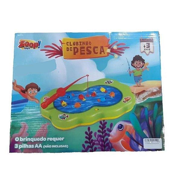 Clubinho De Pesca Com Luzes - ZP00561 - Zoop Toys