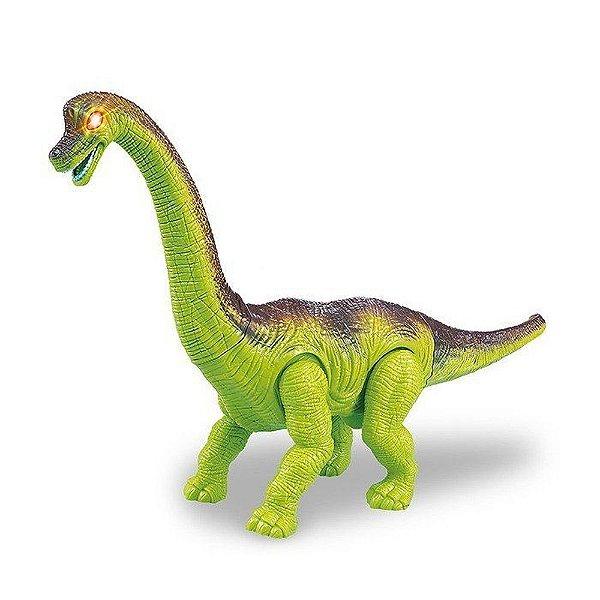 Braquiossauro Dinossauros com Luz e Som - Zoop Toys ZP00162
