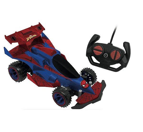 Veículo de Controle Remoto - Web Runner - Spider Man - Candide