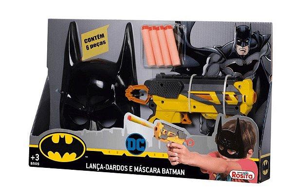 Lançador de Dardos - DC Comics - Batman - Lançador Pequeno e Máscara - Novabrink