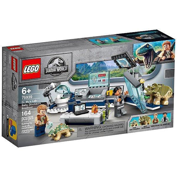 LEGO Jurassic World - Laboratório do Dr. Wu: A Fuga dos Dinossauros Bebês