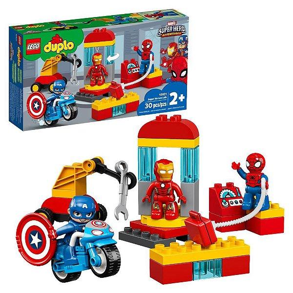 LEGO DUPLO - Laboratório de Super-Heróis