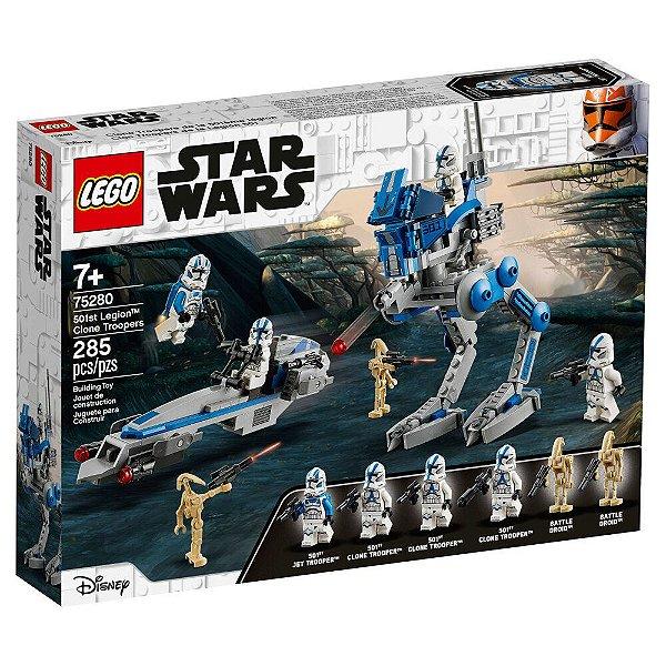 LEGO Star Wars - Soldados Clone da 501ª. Legião