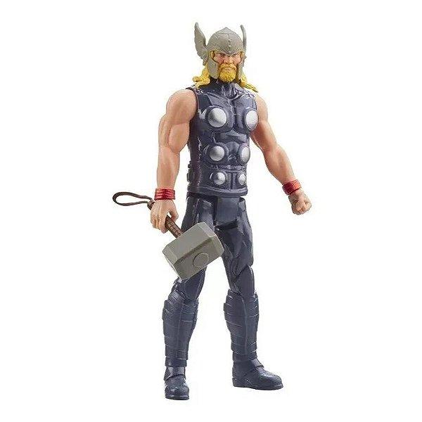 Boneco Thor 30cm Titan Hero Marvel Vingadores - E7879 - Hasbro