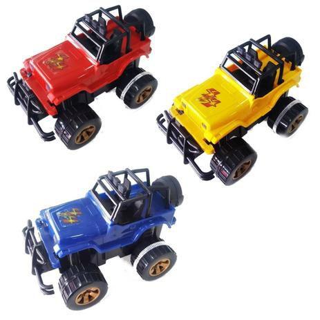 Carrinho Jeep X Terra Special com Fricção - Silmar 6340-SORTIDO