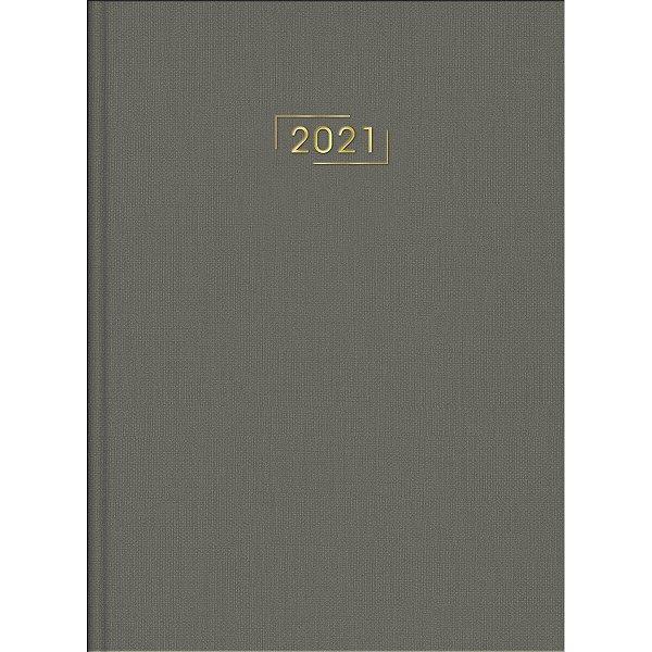 Agenda Executiva Costurada Diária de Mesa Lume 2021 - Sortido