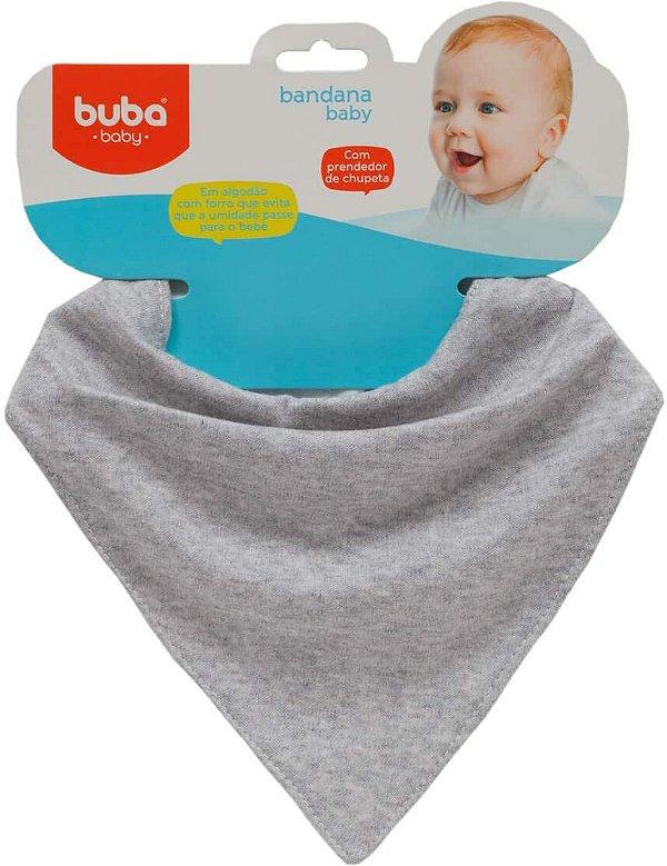Bandana Baby Cinza - Buba
