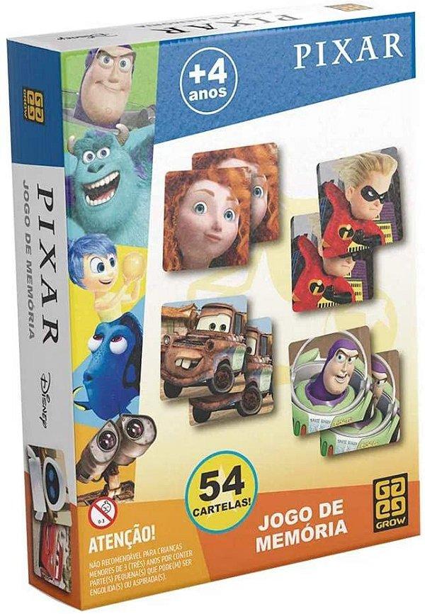 Jogo da Memória - Pixar - Grow