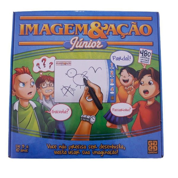 Jogo Imagem Ação Júnior Tabuleiro - Grow