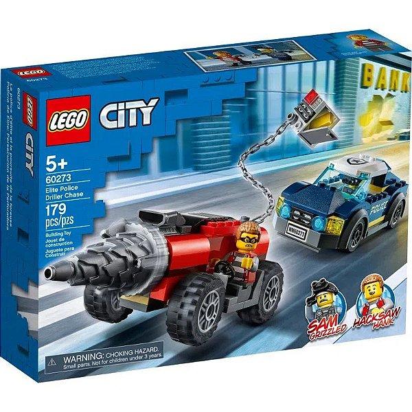 LEGO City - Polícia de Elite - Perseguição de Carro Perfurador - 60273