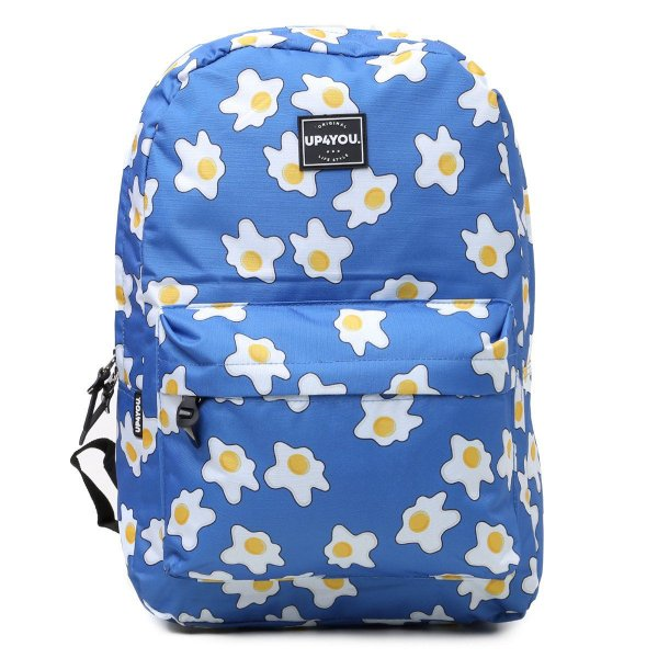 Mochila Up4You Estampada Feminina - Azul