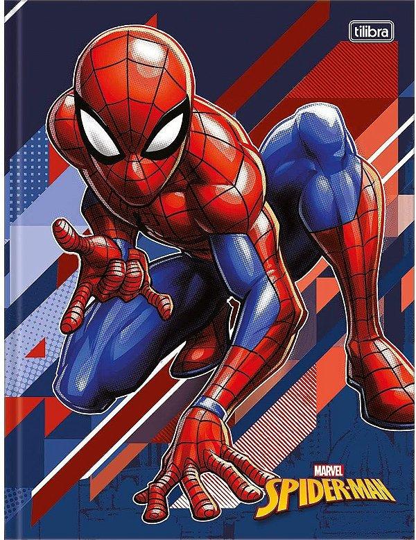 Caderno Brochurao Capa Dura Spider-man 80 Folhas- Sortido