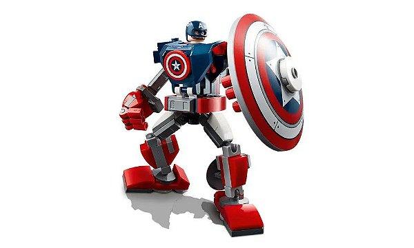 LEGO Super Heroes Marvel - Armadura Robô do Capitão América