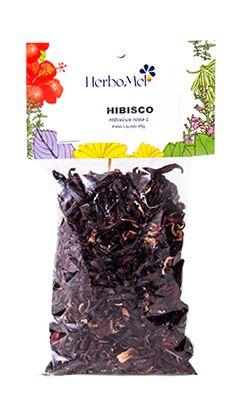 Hibisco - Ervas in Natura