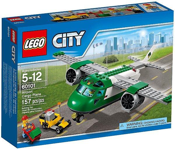 LEGO CITY 60101 AIRPORT CARGO PLANE