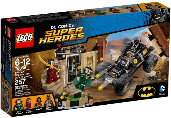 LEGO SUPER HEROES 76056 RESCUE FROM RA'S AL GHUL
