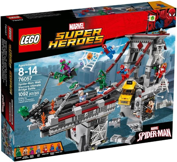 LEGO SUPER HEROES 76057 SPIDER-MAN: WEB WARRIORS ULTIMATE BRIDGE BATTLE