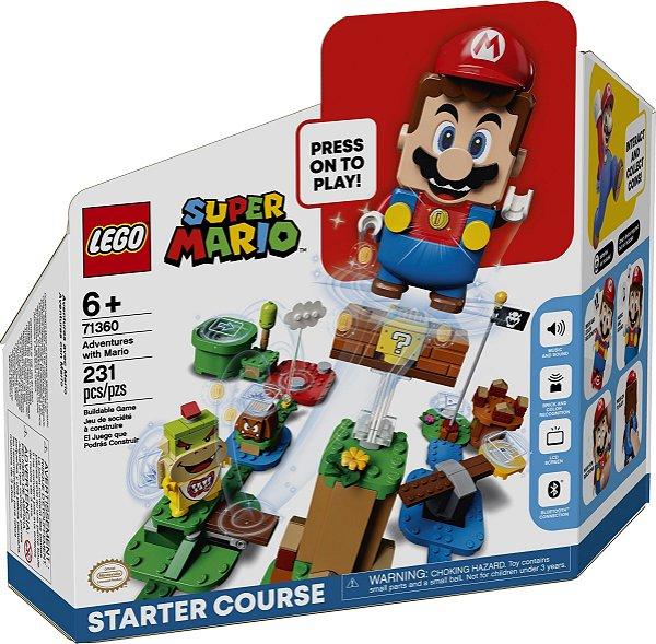 LEGO SUPER MARIO 71360 AVENTURAS COM MARIO - KIT PRINCIPAL
