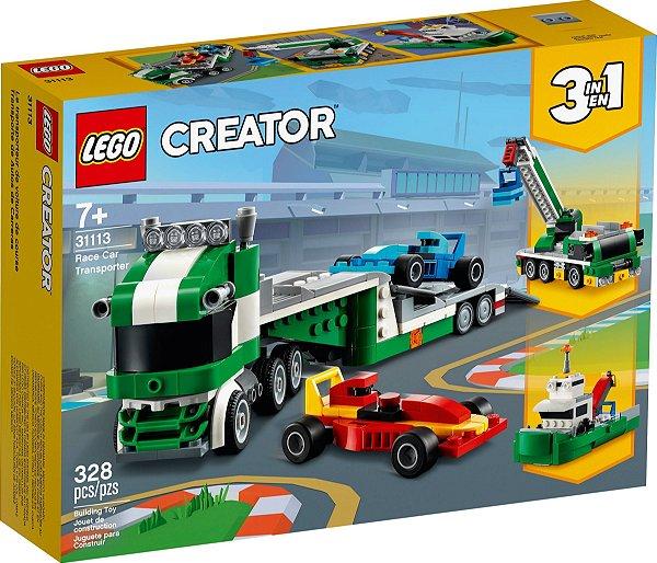 LEGO CREATOR 31113 TRANSPORTADOR DE CARROS DE CORRIDA