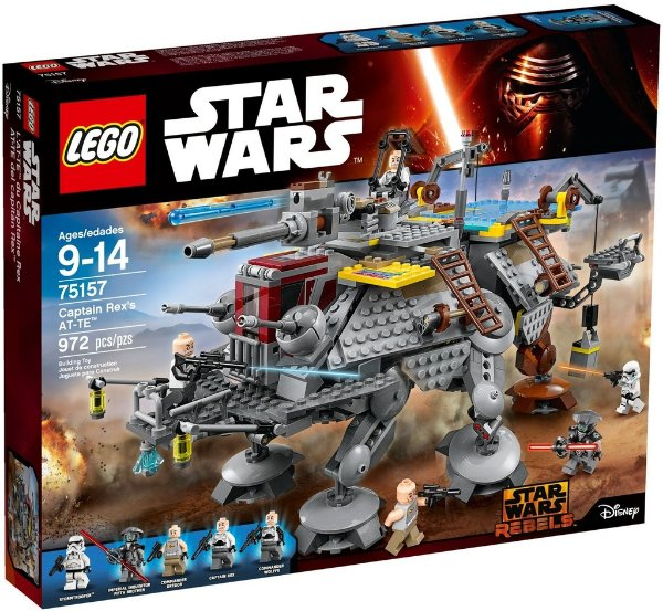 LEGO STAR WARS 75157 CAPTAIN REX'S AT-TE