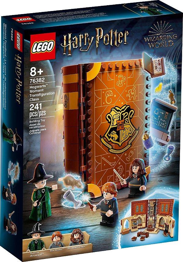 LEGO HARRY POTTER 76382 MOMENTO HOGWARTS™: AULA DE TRANSFIGURAÇÃO