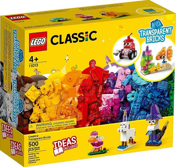 LEGO CLASSIC 11013 BLOCOS TRANSPARENTES CRIATIVOS