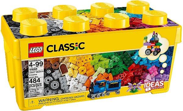 LEGO CLASSIC 10696 CAIXA MÉDIA DE PEÇAS CRIATIVAS