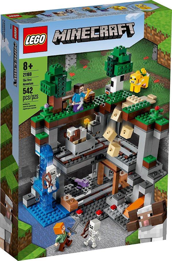 LEGO MINECRAFT 21169 A PRIMEIRA AVENTURA