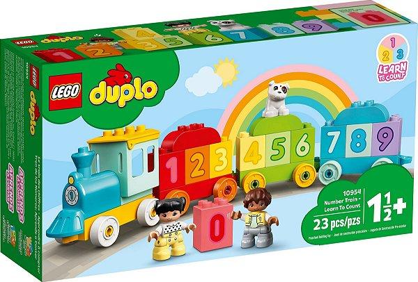 LEGO DUPLO 10954 TREM DOS NÚMEROS - APRENDER A CONTAR