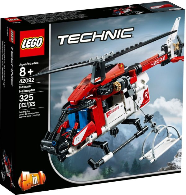 LEGO TECHNIC 42092 HELICÓPTERO DE RESGATE